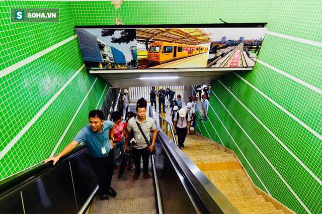 13 đoàn tàu đường sắt Cát Linh - Hà Đông đang chạy thử trong sáng nay - Ảnh 3.