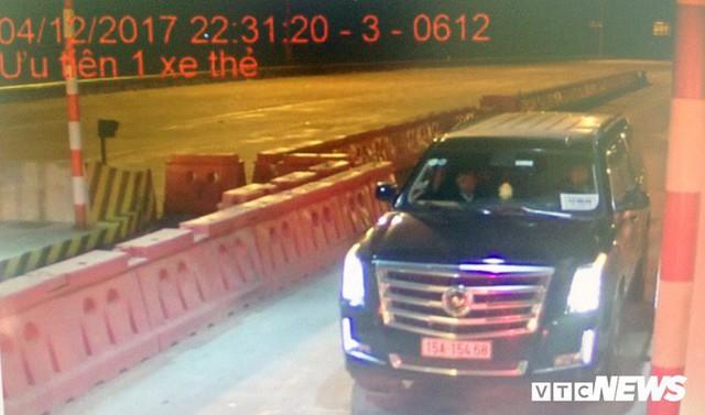 Siêu xe Cadilac gắn biển xe hộ đê trốn phí trên cao tốc Hà Nội – Hải Phòng - Ảnh 1.