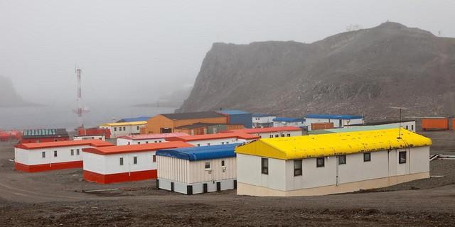 Ngôi làng nên thơ kỳ lạ giữa Nam Cực buộc bạn phải cắt bỏ một phần nội tạng nếu muốn định cư - Ảnh 1.