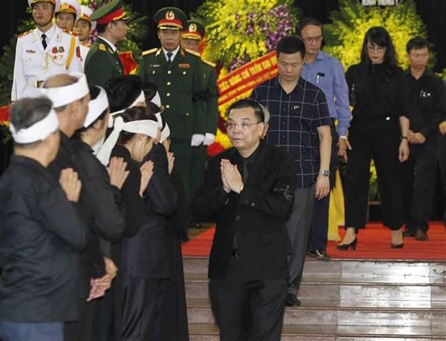 Lễ viếng Chủ tịch nước Trần Đại Quang - Ảnh 2.