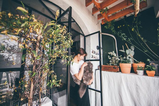 Tích góp suốt 7 năm đi làm, cô gái 30 tuổi độc thân tự mua căn hộ 38m² và biến nó thành không gian sống tuyệt đẹp - Ảnh 19.