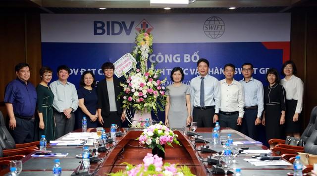 BIDV đạt chuẩn và chính thức vận hành SWIFT gpi  - Ảnh 1.