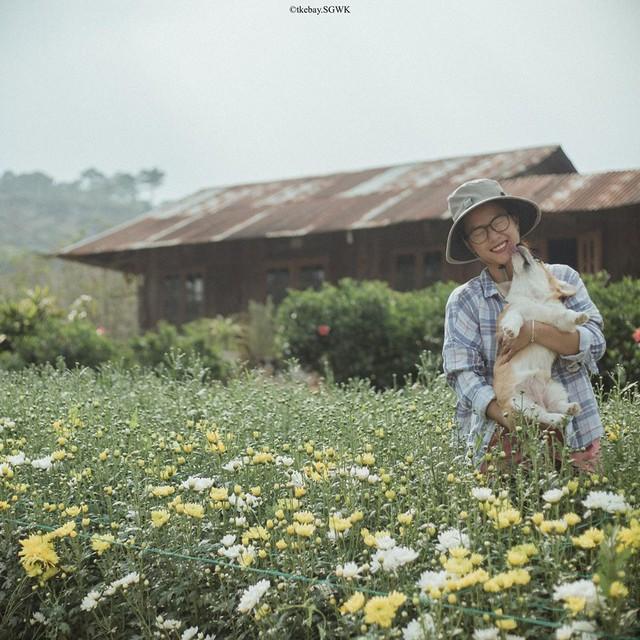 Rời bỏ phố thị, cô gái Sài Gòn lên Đà Lạt cùng bạn trai xây dựng khu vườn giữa núi rừng hoang vu dành cho thú cưng - Ảnh 5.