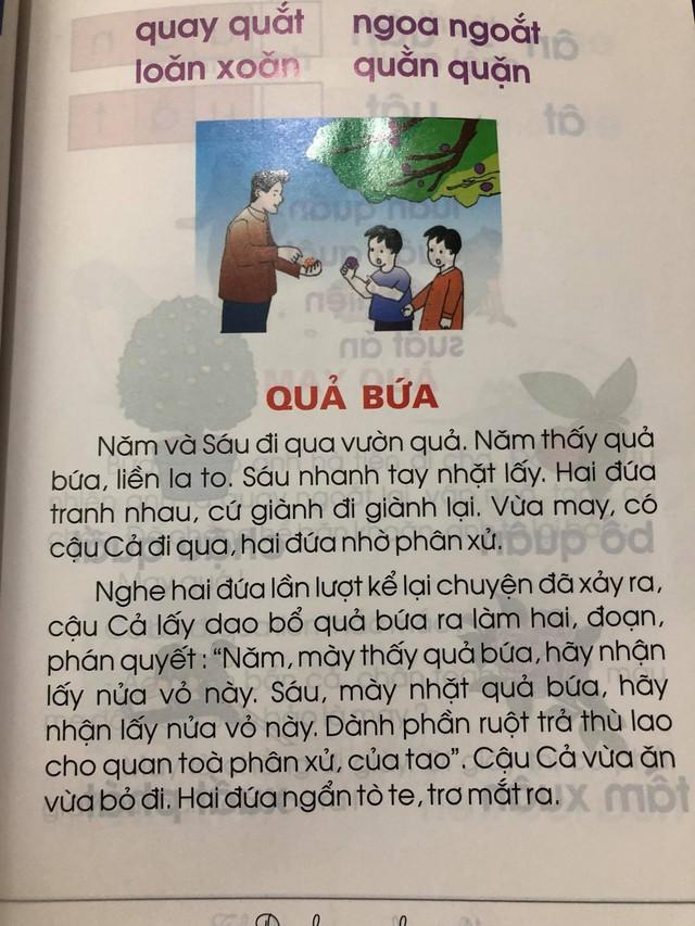 Phụ huynh lo ngại trước bộ sách Tiếng Việt lớp 1: Các thành ngữ đều nặng nề, bài đọc thì xỉa xói nhiều hơn là giáo dục - Ảnh 2.