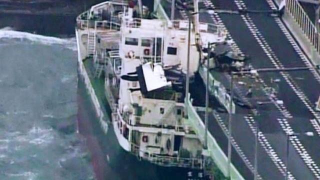 Hình ảnh có thật, nhìn như ngày tận thế trên phim: siêu bão Jebi lớn nhất trong 25 năm qua đổ bộ vào Nhật Bản - Ảnh 2.