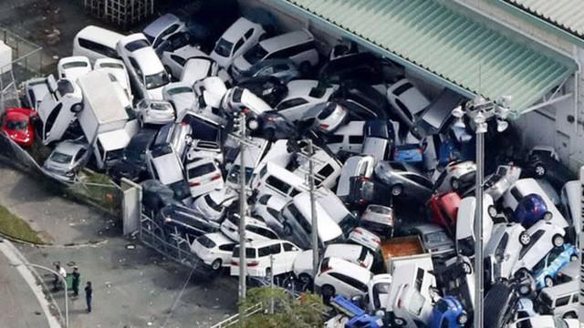 Hình ảnh có thật, nhìn như ngày tận thế trên phim: siêu bão Jebi lớn nhất trong 25 năm qua đổ bộ vào Nhật Bản - Ảnh 6.