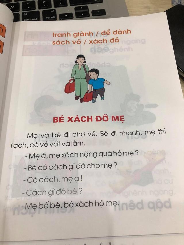 Phụ huynh lo ngại trước bộ sách Tiếng Việt lớp 1: Các thành ngữ đều nặng nề, bài đọc thì xỉa xói nhiều hơn là giáo dục - Ảnh 9.