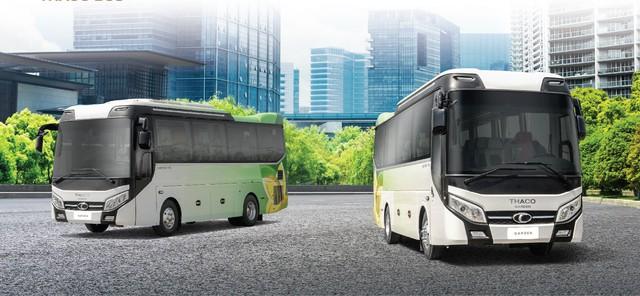 Thaco lần đầu công bố dòng xe bus ghế ngồi cấp cao có kích cỡ nhỏ - Ảnh 1.