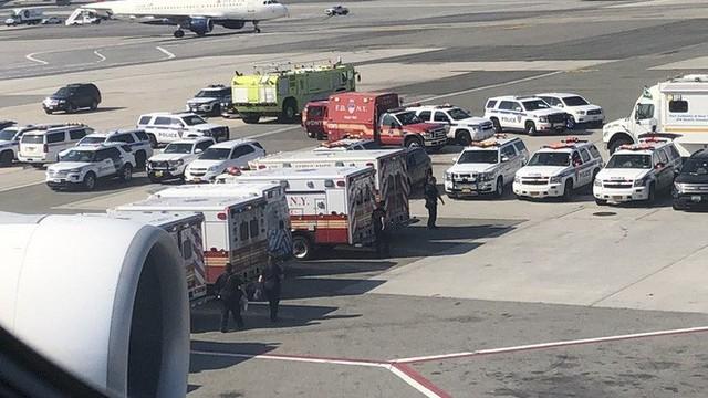 100 hành khách đột ngột ngã bệnh, máy bay Emirates bị cách ly ở sân bay Mỹ - Ảnh 1.