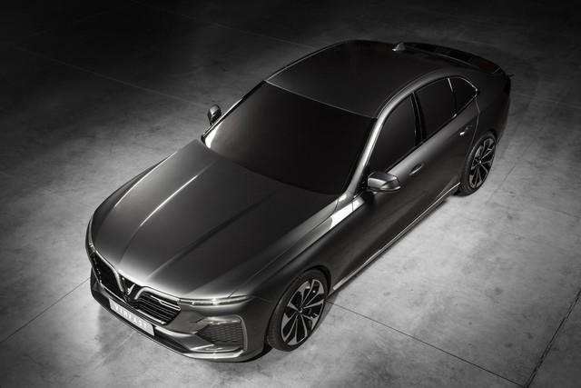 VinFast công bố những hình ảnh ngoại thất đầu tiên của 2 mẫu xe Sedan và SUV - Ảnh 5.