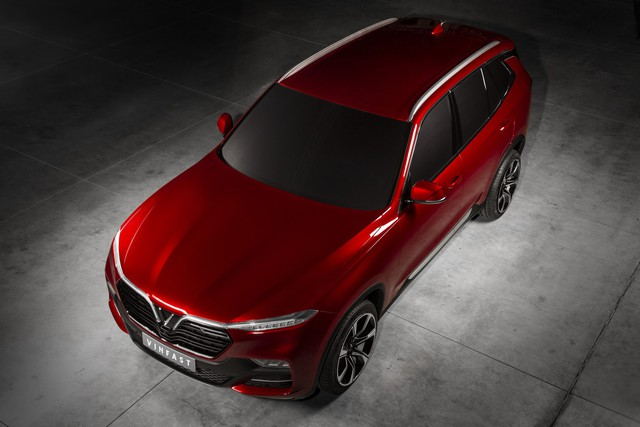 VinFast công bố những hình ảnh ngoại thất đầu tiên của 2 mẫu xe Sedan và SUV - Ảnh 6.