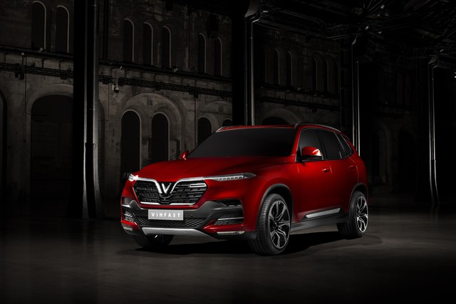VinFast công bố những hình ảnh ngoại thất đầu tiên của 2 mẫu xe Sedan và SUV - Ảnh 7.