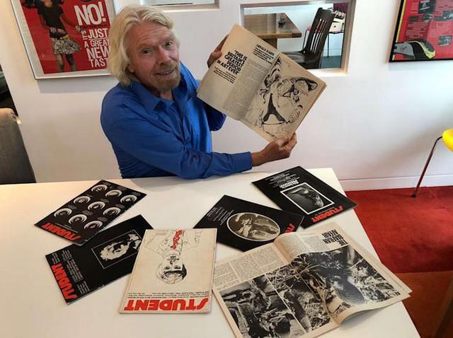 Chỉ với 500 bảng Anh, đây là cách Richard Branson khởi nghiệp thành công - Ảnh 1.