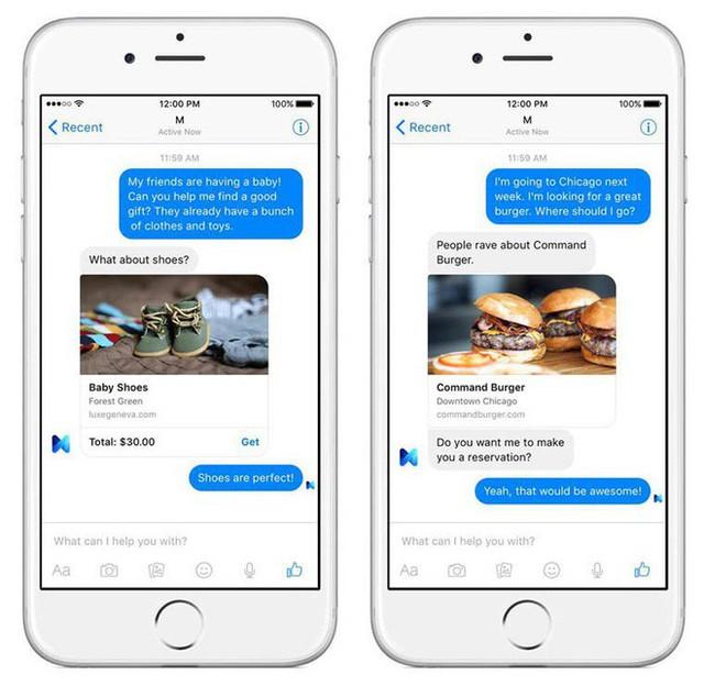 Facebook chính thức bỏ cuộc, phải cho trợ lí ảo M nghỉ hưu từ ngày 19 tháng 1 - Ảnh 2.
