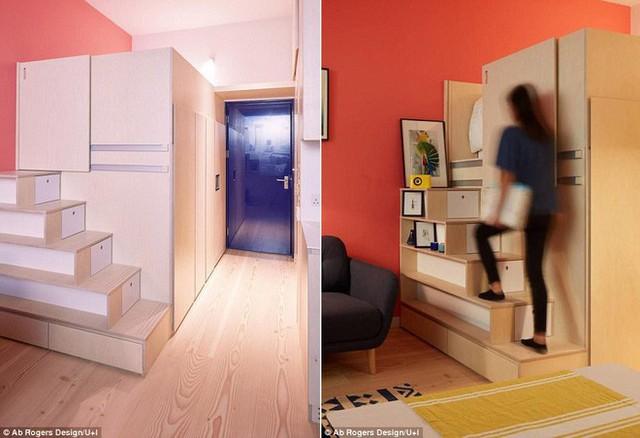 Căn hộ 18,5m² nhưng gì cũng có, cực tiện nghi và đáng mơ ước cho người độc thân - Ảnh 2.
