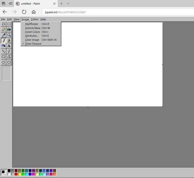 Ứng dụng Windows Paint thần thánh đã có bản web, không cần lo về việc sẽ bị khai tử trên Windows nữa rồi - Ảnh 2.