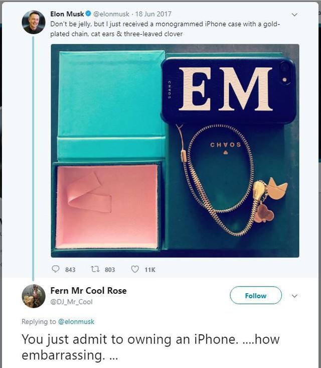 Elon Musk dùng smartphone của hãng nào? Câu trả lời có thể khiến bạn bất ngờ - Ảnh 1.