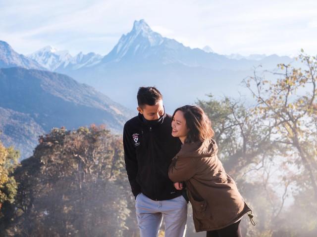 Bộ ảnh cưới không bình thường chút nào ở Nepal của cựu CEO Uber Việt Nam - Ảnh 16.