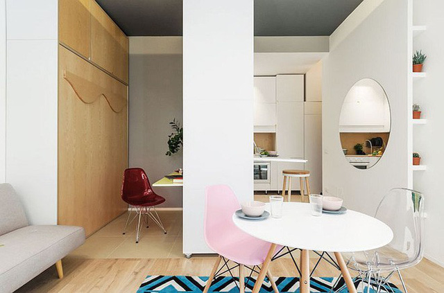 Căn hộ 30m² được thiết kế và bài trí đẹp không kém gì căn hộ cao cấp - Ảnh 3.