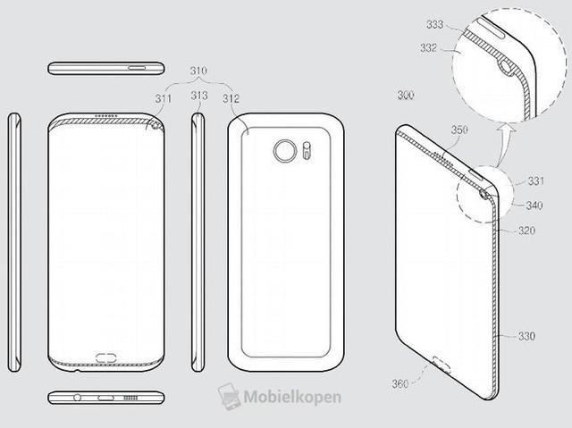 Samsung đang nghiên cứu để học tập và làm theo thiết kế tai thỏ của iPhone X - Ảnh 3.