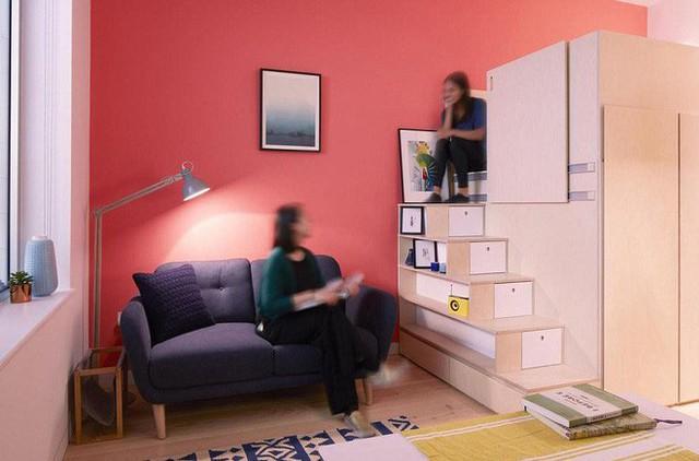 Căn hộ 18,5m² nhưng gì cũng có, cực tiện nghi và đáng mơ ước cho người độc thân - Ảnh 4.