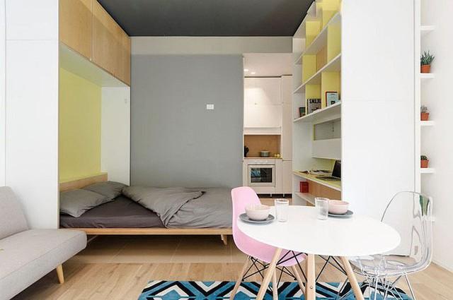 Căn hộ 30m² được thiết kế và bài trí đẹp không kém gì căn hộ cao cấp - Ảnh 6.
