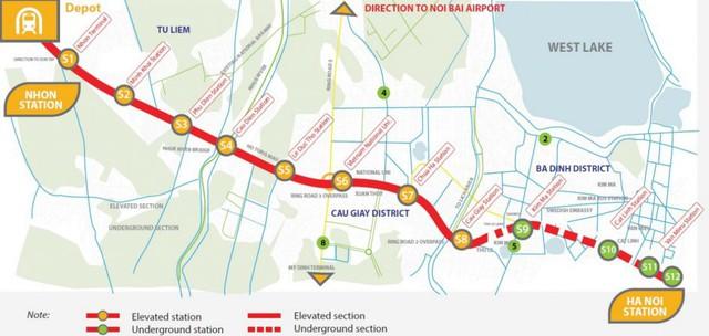 Đường sắt đô thị số 3 Nhổn – ga Hà Nội được rót thêm 170 triệu USD - Ảnh 1.