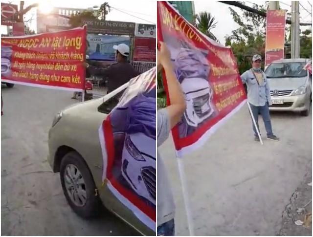 Xôn xao clip nữ nhân viên đại lý xe xe bốn phân phốih hãng Hyundai vén váy, tranh cãi gay gắt có khách hàng - Ảnh 7.