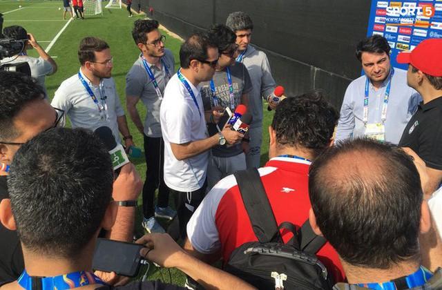 """asian cup 2019 - photo 1 15471909591301366161014 - Phóng viên Iran: """"Việt Nam toàn cầu thủ vô danh, chưa thể cùng đẳng cấp với Iran"""""""