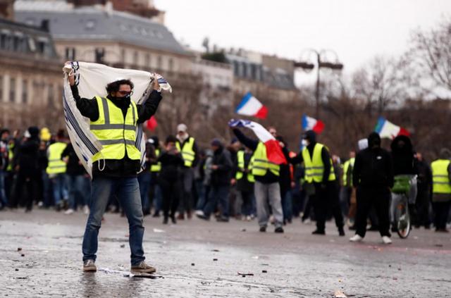 Biểu tình 'Áo vàng' tuần thứ 9 liên tiếp ở Pháp, 84.000 người xuống đường - Ảnh 1.