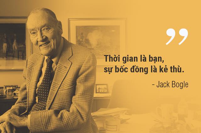 Những lời khuyên đầu tư của bố già phố Wall John Bogle - Ảnh 1.