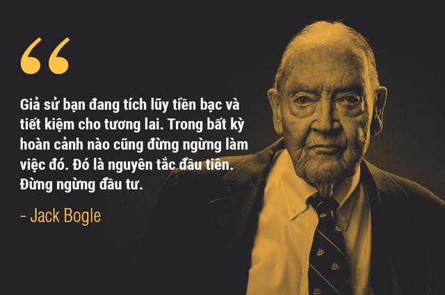 Những lời khuyên đầu tư của bố già phố Wall John Bogle - Ảnh 5.
