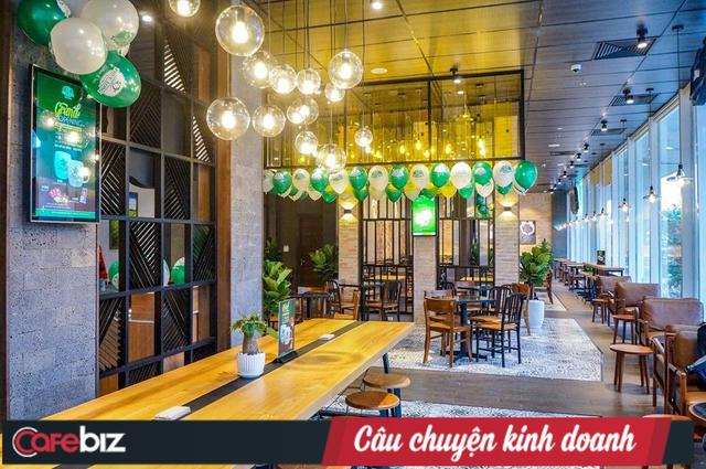 Chuỗi Phúc Long đã chính thức Bắc tiến, cửa hàng đầu tiên tại Hà Nội đặt ngay kế bên 2 đại gia Starbucks và Highlands Coffee - Ảnh 1.