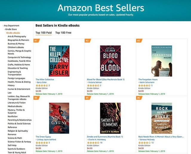 Không còn là một nhà bán lẻ sách, Amazon đã trở thành một thế lực xuất bản sách đáng sợ - Ảnh 4.