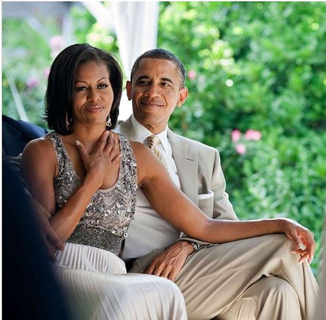Sông có thể cạn, núi có thể mòn nhưng tình yêu của Tổng thống Obama dành cho vợ không bao giờ thay đổi! - Ảnh 2.