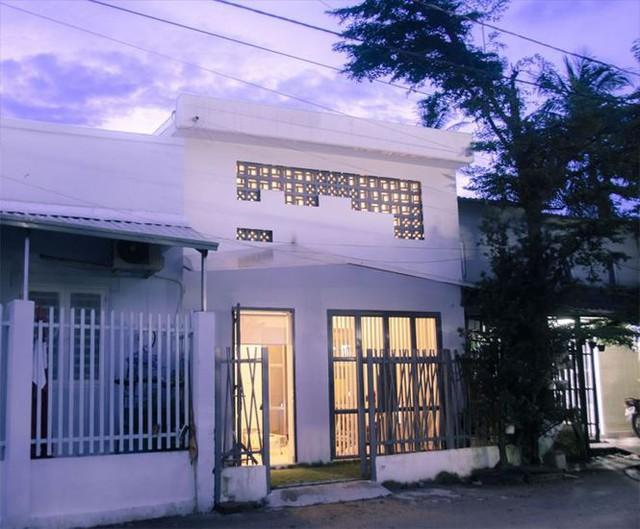 Mẫu nhà phố 1 trệt gác lửng siêu đẹp với chi phí 500 triệu đồng - Ảnh 1.