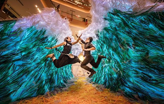 Triển lãm tác phẩm nghệ thuật bảo vệ môi trường làm từ 160.000 ống hút nhựa gom từ khắp các đường phố Việt Nam - Ảnh 7.