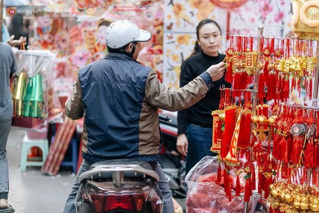 Rộn ràng không khí Tết tại chợ hoa Hàng Lược - phiên chợ truyền thống lâu đời nhất ở Hà Nội - Ảnh 11.