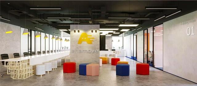 Ngắm văn phòng làm việc đẹp nhất Vịnh Bắc Bộ của Startup công nghệ Ahamove - Ảnh 2.