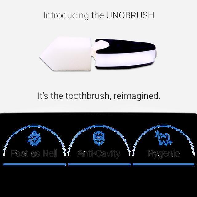 UNOBRUSH: Bàn chải điện trông như que kem, ngậm 6 giây là răng miệng sạch bong, gọi được 29.5 tỷ vốn trên Indiegogo - Ảnh 2.