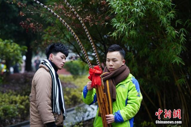 Cả một trời trai xinh gái đẹp xúng xính váy áo cổ trang dự thi vào trường nghệ thuật lớn hàng đầu ở Trung Quốc - Ảnh 9.