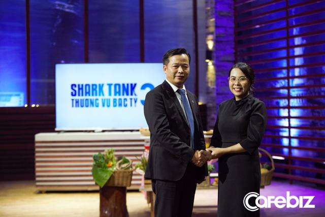 Mẹ bỉm sữa gọi vốn cho startup thực phẩm hữu cơ, bị Shark Hưng gắt vì lạm dụng từ đao to búa lớn như blockchain, nhưng được Shark Việt rót 5 tỷ nhờ thái độ - Ảnh 5.
