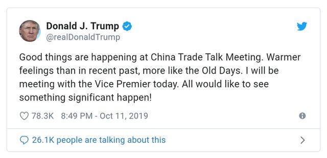 Chỉ bằng một dòng tweet, Tổng thống Trump vừa giúp Apple lên đỉnh nghìn tỷ đô - Ảnh 1.