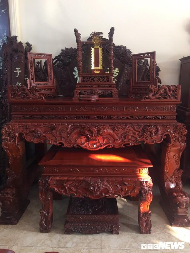 Thảm cảnh đồ gỗ Đồng Kỵ nổi tiếng dù giảm giá sốc vẫn nằm đắp chiếu - Ảnh 5.