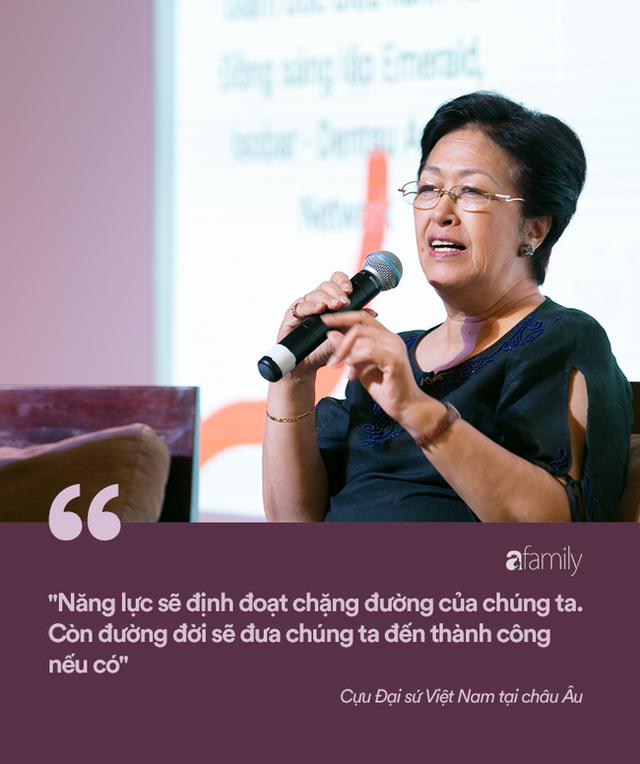Tôn Nữ Thị Ninh - Cựu Đại sứ Việt Nam tại châu Âu: Đừng nói phụ nữ không thể bắt đầu ở tuổi 40, nếu hẹn nhau ở tuổi 50 tôi còn chưa ngán... - Ảnh 4.
