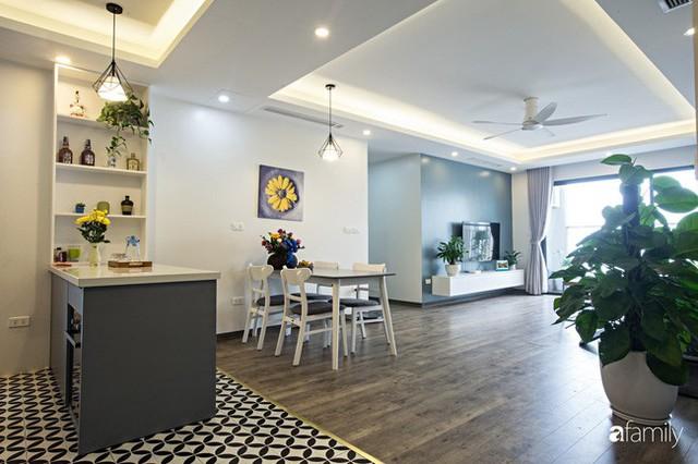 Căn hộ 100m² gây ấn tượng theo phong cách đương đại có tổng chi phí 260 triệu đồng ở Long Biên, Hà Nội - Ảnh 2.