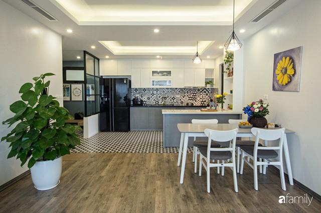 Căn hộ 100m² gây ấn tượng theo phong cách đương đại có tổng chi phí 260 triệu đồng ở Long Biên, Hà Nội - Ảnh 6.