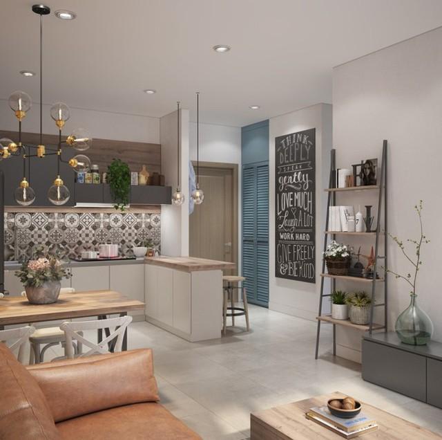 Làm đẹp căn hộ nhỏ 25m2 với cách sắp xếp nội thất thông minh - 2