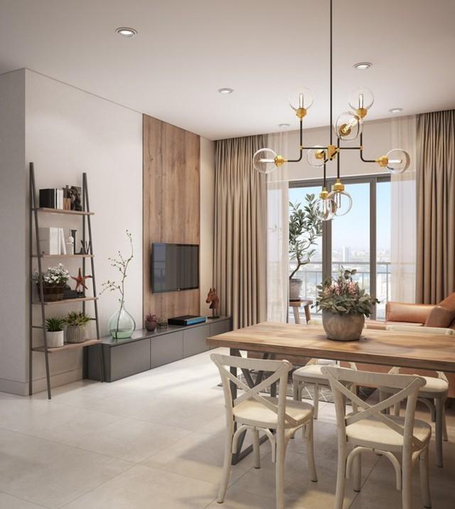 Làm đẹp căn hộ nhỏ 25m2 với cách sắp xếp nội thất thông minh - 3