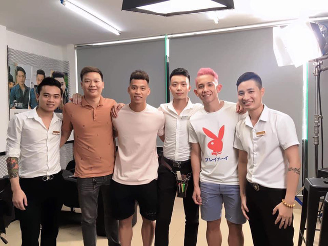 Chuỗi tóc nam 30Shine vừa mở chi nhánh đầu tiên ở Thái, khách đông nườm nượp chẳng kém gì Việt Nam - Ảnh 1.